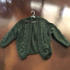 Nestled up cable knit cardigan (VICI) Small/Medium